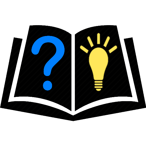 book with question mark and lightbulb